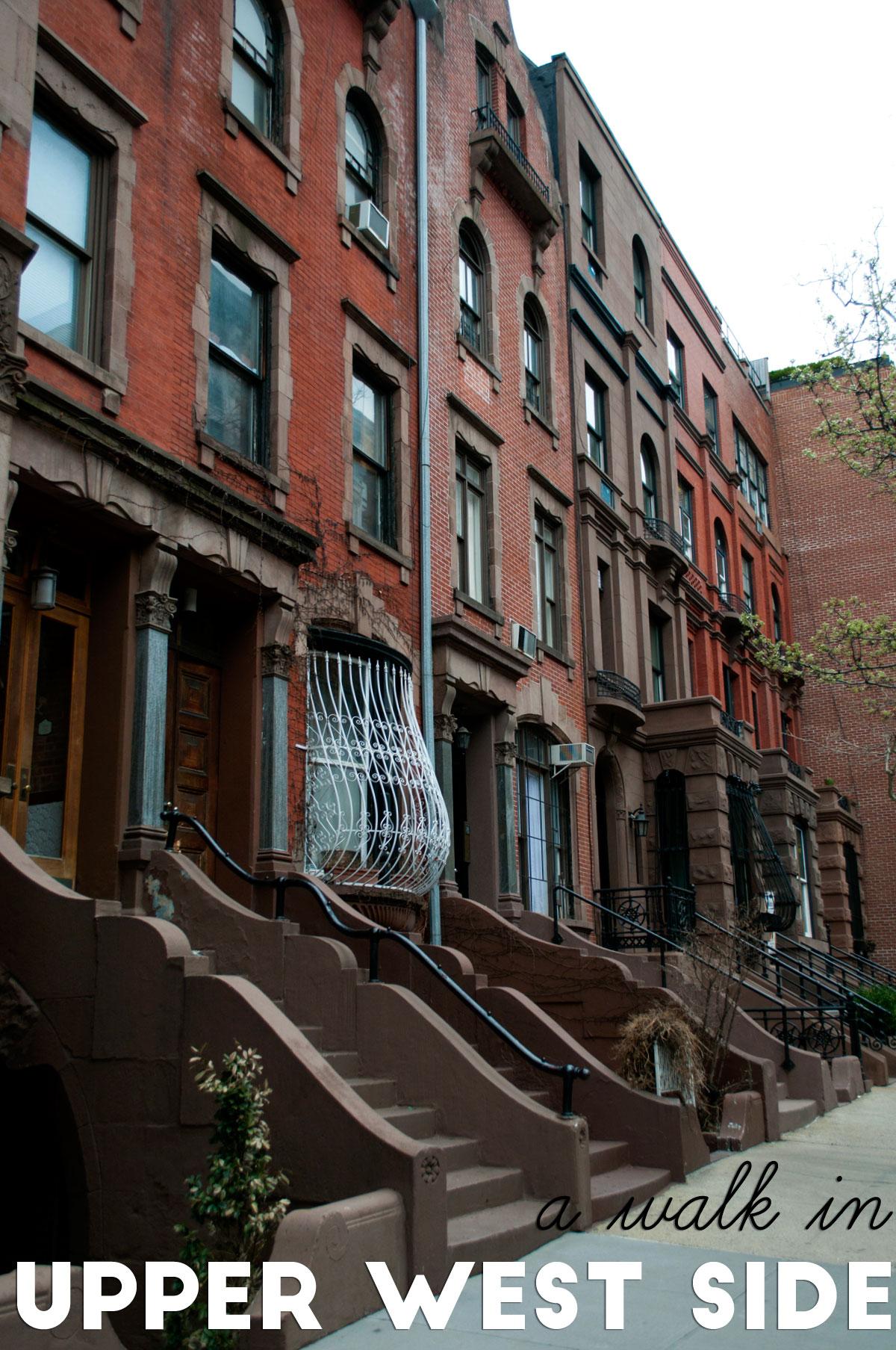 a walk in upper west side new york city. Black Bedroom Furniture Sets. Home Design Ideas