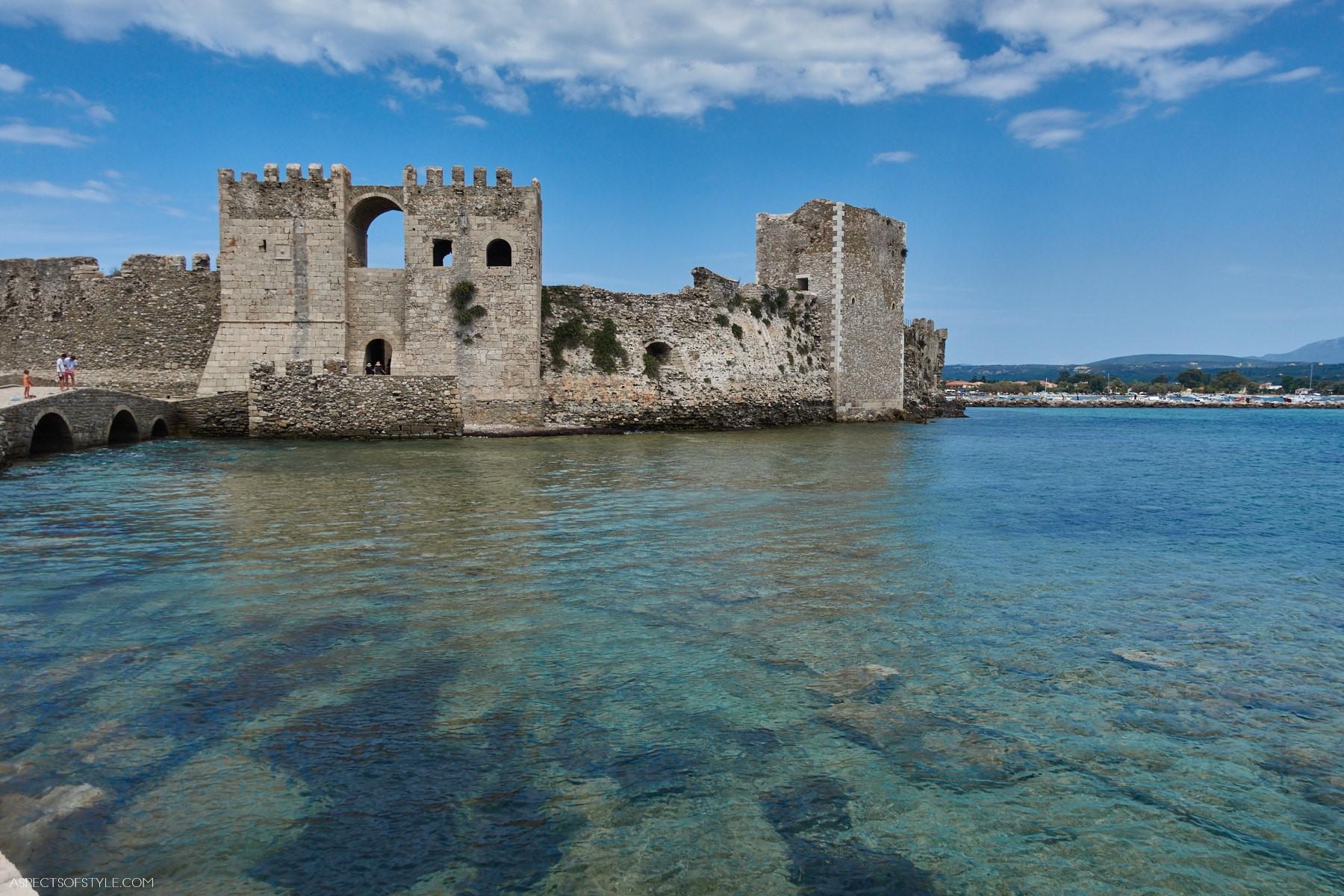 Methoni Castle. Peloponnese, Greece