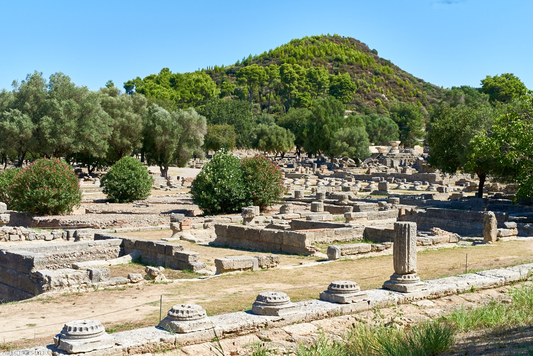 Peloponnese Road Trip: Ancient Olympia & Vytina - Aspects ...